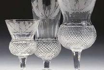 ♥ SKLENIČKY * Český křišťál ♥ / ♥ Značkové víno - patří do značkového, luxusně broušeného skla * Českého skla * ♥
