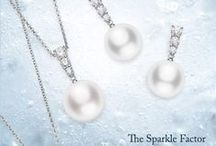 Diamonds / Mikimoto's Morning Dew collection is legendary for its dewdrop-inspired design. Each piece features a tier of ‪diamonds‬, arranged in order of ascending size and adding a touch of sublime ‪sparkle‬ to those adorned in Morning Dew pieces.
