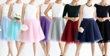 Tulle Skirts by Tuesday Couture / Tulle skirts, midi tulle skirts, maxi tulle skirts, bridesmaid tulle skirt, bridesmaid maxi tulle skirt