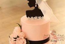 ♥ DORTY * svatební ♥ / ♥ Na žádném svatebním stole nechybí dort * tady je ukázka od mistrů cukrářů, ale i domácích cukrářek, které se jím svou zručností vyrovnají ♥