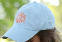 Monogrammed Obsessions / Monograms add a much needed personal touch to any gift!