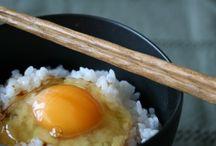 I love kome / I love rice! I love Japanese food and rice / by Misato Mikami