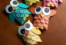 bird crafts / Its all about birds
