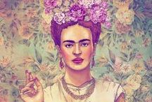Frida Kahlo..she is not just a woman