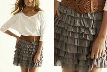 Ruffled shorts/skirt styling ideas