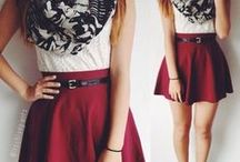 Skater skirt how to style / How to wear and style a skater skirt