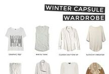 Fall/winter 2015 capsule wardrobe / My fall and winter capsule wardrobe with 37 items and inspo on how to style and combine the clothing items. http://fromfattofitgirl.com/accept-new-fit-body-with-creating-your-fall-2014-wardrobe/