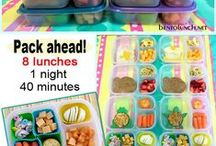 Lunch Boxes / Easy Lunches ( Mostly Healthy)