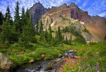 WA - North Cascades NP, Ross Lake NP, Lake Chelan NP, Mt Baker-Snoqualmie NF, Glacier Peak, Okanogan-Wenatchee NF, Hanford Reach NM, Yakima, Gilford Pinchot NF