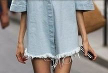 Denim Dreams / Denim fashion inspo.
