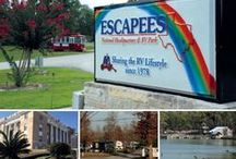 Escapees RV Parks / The collection of Escapees Rainbow Parks and SKP Co-Ops around the country. Rainbow Parks were started to satisfy the needs of Escapees members desiring home base park opportunities while providing more parking for traveling Escapees. Escapees helped start the SKP Co-Op parks, but does not own them or run them. Each Co-Op park is a separate and independent nonprofit corporation.