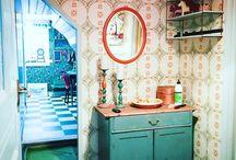 Vintageinterior / Inredning med gamla möbler