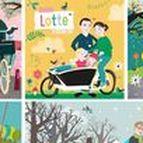 Birth announcement cards by Zwiep / Birth announcement cards made by me: www.zwiep.nu Geboortekaartjes op maat getekend door Tjarda Borsboom