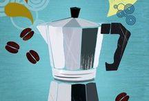 Coffee / Ik hou van koffie.