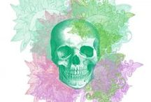 ART | Beauty inside your head / Skull = art.