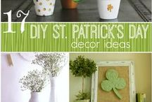 St. Patrick's Day / Crafts, recipes, home decor, printables,  and more!  Have lots of St Patty's day fun... #stpatricksday