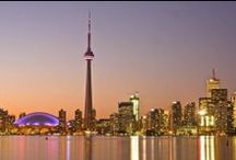 Toronto: Cosmopolitan City on the Lake / Toronto is Canada's largest city with a long list of attractions to visit and things to do. Check out this board put together by KGIC Toronto for some of the top sights to see!