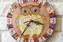 Art / Craft... Clocks and watches... Timekeepers... / Marking the passage of time.. Fascinating... / by Rosalyn Smaill