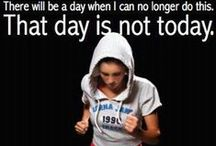 Health and Fitness Motivators / People exercising and ideas for it