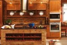 Backsplash ideas / Get some inspiration for backsplash in a kitchen or bath! / by Hoffman Kitchen and Bath