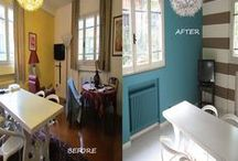 BEFORE AND AFTER  HOMESTAGING