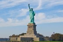 #AirTkt: New York City / New York City, Empire State Building, Times Square, Statue of Liberty