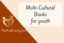 Multicultural Books for Children and Teens / Check here for book ideas to help your children understand and empathize with other cultures! And join us at PatAndCandy.com in January for #multiculturalchildrensbookday!