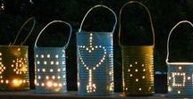 Garden/Outdoor / diy, crafts, garden, garden, outdoor, plant, rock, lantern, recycle, recycling,