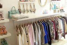 Wardrobe storage and ideas