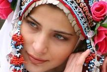 East European folk dress / Slavic, Magyar, and Baltic costumes as well as some ethnic minority dress.