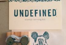 Stampin Up Undefined / Carve your own stamp line / by brensbead