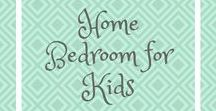 Home - Bedroom for Kids / Kid's bedrooms | showcasing the best ideas for toddlers, girls and boys. Includes simple Home decor DIY inspiration, Inspiration for fun and colourful girls and boys bedrooms.