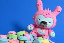 Designer Toys / Colorful Designer toys and Collectable Figurines