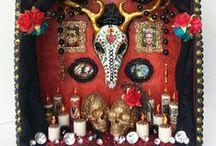 Shrines / Colorful beautiful shrines of all sizes  #shrines