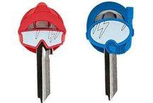 Nakładki na klucze / Nakładki na klucze w przeróżnych ciekawych kształtach.