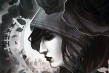 Melpomene / Muse of Tragedy / by Rebecca Hosford