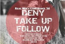 Real Men's Conference / The Real Men's Conference helps men realize their purpose and potential in God. Bringing men together and pointing them toward Christ is what this powerful life-changing conference is all about.