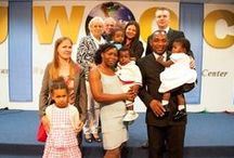 """Baby Dedication / And they were bringing children to Him so that He might touch them; but the disciples rebuked them. But when Jesus saw this, He was indignant and said to them, """"Permit the children to come to Me; do not hinder them; for the kingdom of God belongs to such as these. """"Truly I say to you, whoever does not receive the kingdom of God like a child will not enter it at all."""" read more.And He took them in His arms and began blessing them, laying His hands on them. Mark 10:13-16"""