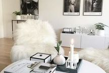 At Home With || Dream Interiors / For my next house that I shall create my vision of perfection = cosy, comfy, homely, modern, vintage, wooden, white, blogger goals