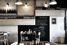 restaurant, interiør, mat / Bilder av interiør, matretter og omgivelser
