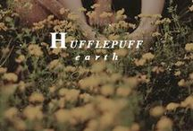 - ̗̀ Hufflepuff   ̖́- / You might belong in Hufflepuff where they are just and loyal those patient Hufflepuffs are true and unafraid of toil.