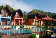 Lojiwood / @lojiwood Located in Sangrawayang Village, Simpenan, right in the heart area of Geopark Ciletuh Sukabumi, Indonesia, LOJIWOOD BEACH COTTAGES is the perfect destination for family holiday, adventures and those just looking to relax by the beach.
