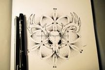Tattoo sketches / I'm currently learnign to tattoo. So this is some of my artwork, that i would love to put on skin.