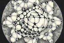 Zentagle / Zentangle patterns