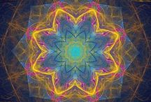 mandalas / I just like mandalas.  I like to color them, to look at them, and am amazed at the seemingly endless shapes and color combos they can be. / by Shakta Khalsa
