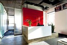 Modern Office Design / Modern office architecture and interior design.