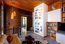 Modern Living Room / Modern living room interior design, architecture and decor.
