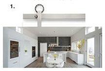 Modern Kitchen Design / Modern kitchen interior design, architecture and decor.