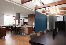 Modern Dining Room / Modern dining room architecture and interior design.