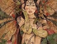 Faeries, Fae, Fairy Dolls, Faery Homes, Gardens, Houses, Pixies & Wings / Faery dolls, homes, gardens, wings - everything beautiful and faerylike. Crafts, artists, makers and Fae Folk.